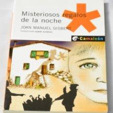 Libros de segunda mano: MISTERIOSOS REGALOS DE LA NOCHE. GISBERT, JOAN MANUEL. Lote 143805662