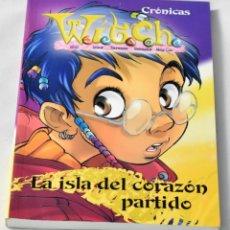 Libros de segunda mano: CRÓNICAS WITCH, LA ISLA DEL CORAZÓN PARTIDO DISNEY ENTERPRISES. Lote 143809686