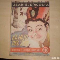 Libros de segunda mano: EL HIJO DEL ZAR JEAN R. D´ACOSTA. Lote 144547930