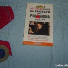 Libri di seconda mano: STEVEN SPIELBERG PRESENTA EL SECRETO DE LA PIRAMIDE , POR ALAN ARNOLD. Lote 145008002