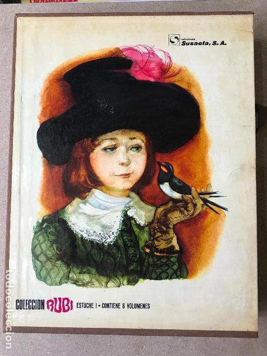 COLECCIÓN RUBI - ESTUCHE I - 6 TOMOS - ILUSTRACIONES DE FERNANDO SAEZ - EDICIONES SUSAETA 1970 (Libros de Segunda Mano - Literatura Infantil y Juvenil - Novela)