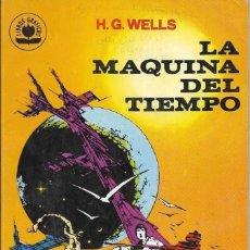 Libros de segunda mano: == A07 - LA MAQUINA DEL TIEMPO - H. G. WELLS - LIBROS GRAFICOS EDIPRINT . Lote 145217962