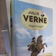 Libri di seconda mano: MIGUEL STROGOFF - JULIO VERNE - RBA - ADAPTACIÓN ALBERT SABADELL - ILUSTRACIONES JUAN MANUEL MORENO. Lote 145290090