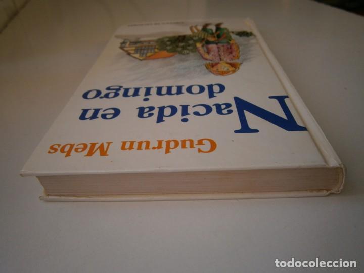 Libros de segunda mano: NACIDA EN DOMINGO Gudrun Mebs Circulo de Lectores 1987 - Foto 7 - 146137446
