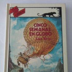 Libros de segunda mano: CINCO SEMANAS EN GLOBO. JULES VERNE ( ANAYA ). Lote 146176358