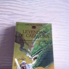 Libros de segunda mano: LEYENDAS DE CATALUÑA .LABOR BOLSILLO JUVENIL. Lote 146607894
