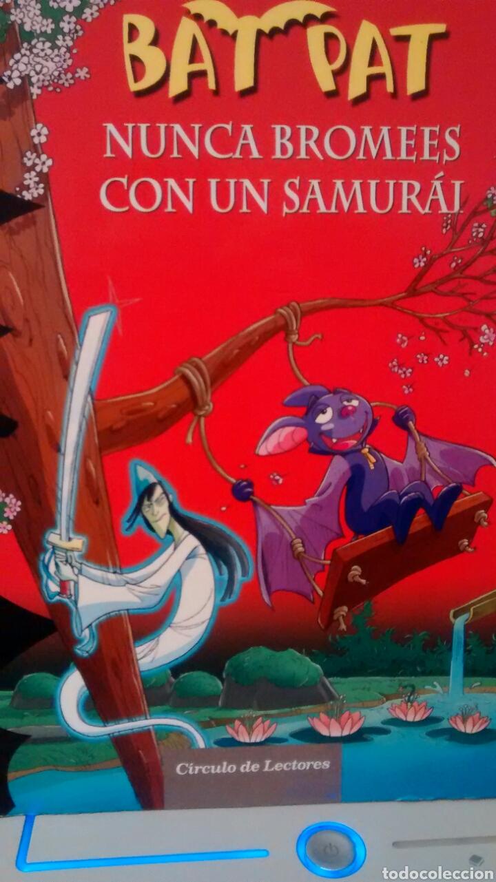 BATPAT, EL SUPERROBOT HAMBRIENTO Y NUNCA BROMEES CON UN SAMURAI (CIRCULO DE LECTORES) (Libros de Segunda Mano - Literatura Infantil y Juvenil - Novela)