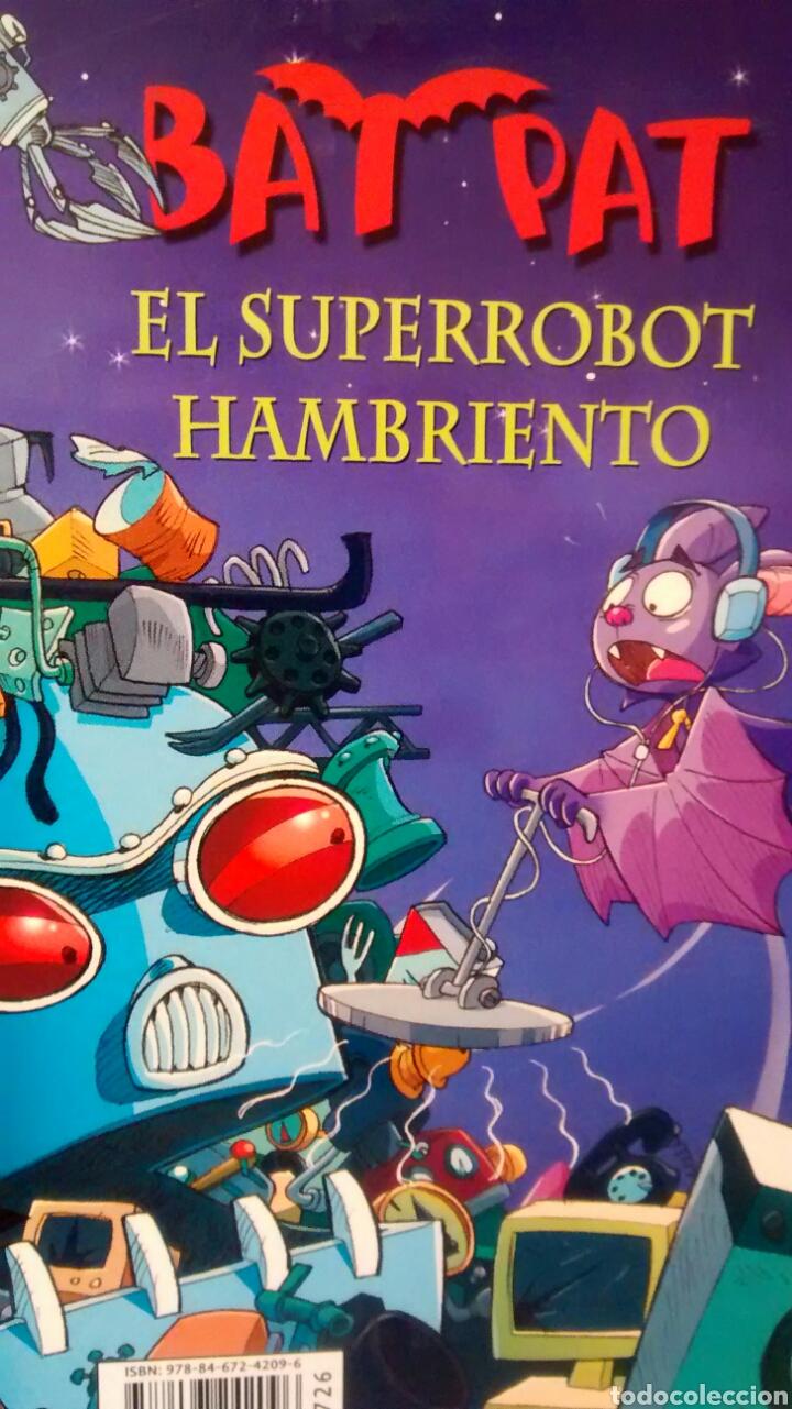 Libros de segunda mano: BATPAT, EL SUPERROBOT HAMBRIENTO Y NUNCA BROMEES CON UN SAMURAI (CIRCULO DE LECTORES) - Foto 2 - 146779210
