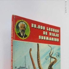 Libros de segunda mano: 20.000 LEGUAS DE VIAJE SUBMARINO - JULIO VERNE. Lote 146829678