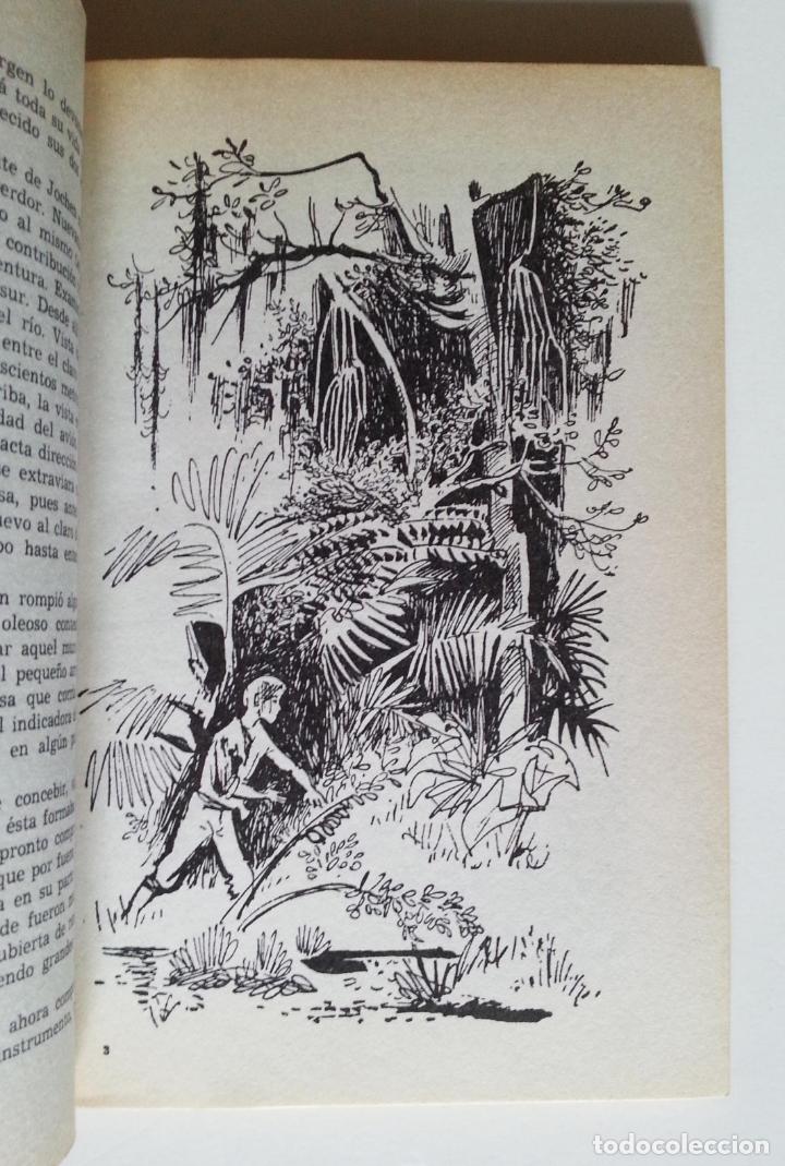 Libros de segunda mano: ATERRIZAJE EN LA SELVA | RADAU, HANS | NOGUER 1977 (3ª ED.) - Foto 3 - 147098134
