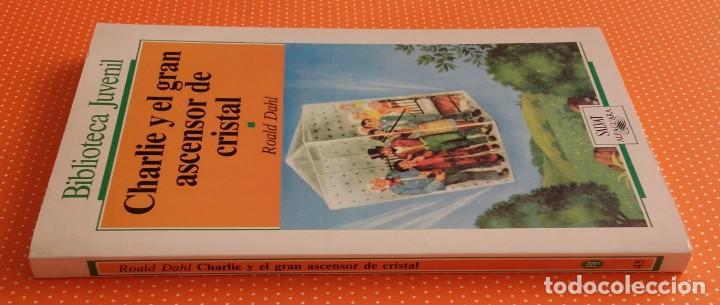 Libros de segunda mano: CHARLIE Y EL GRAN ASCENSOR DE CRISTAL. ROALD DAHL. ALFAGUARA SALVAT. 1987. TRAD. VERÓNICA HEAD. - Foto 6 - 147792642