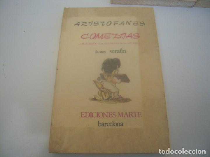 Libros de segunda mano: tres libros de ediciones marte tiradas numeradas - Foto 2 - 147816590
