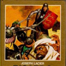 Libros de segunda mano: RICARDO CORAZON DE LEÓN N:16 - JOSEPH LACIER -HISTORIAS COLOR EDICIÓN BRUGUERA 122 PÁG 1986 FN179. Lote 149486329