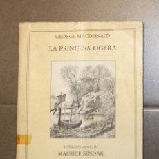 Libros de segunda mano: LA PRINCESA LIGERA GEORGE MACDONALD . Lote 148297042