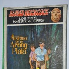 Libros de segunda mano: MISTERIO DE LA ARAÑA DE PLATA, ALFRED HITCKCOCK, VER TARIFAS ECONOMICAS ENVIOS. Lote 148350470