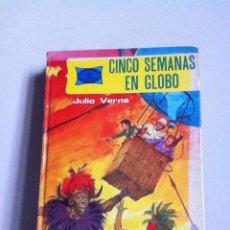 Libros de segunda mano: CINCO SEMANAS EN GLOBO.( J.VERNE) ED. TORAY 1984. Lote 148542294