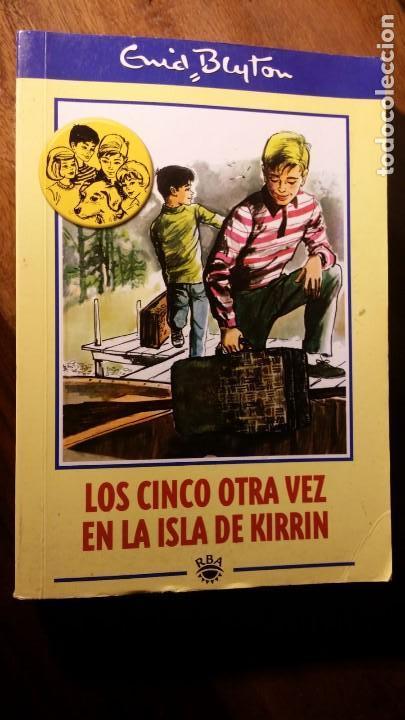 LOS CINCO OTRA VEZ EN LA ISLA DE KIRRIN, ENID BLYTON (Libros de Segunda Mano - Literatura Infantil y Juvenil - Novela)