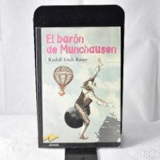 Libros de segunda mano: EL BARON DE MUNCHAUSEN. RASPE. RUDOLPH ERICH. Lote 151025138