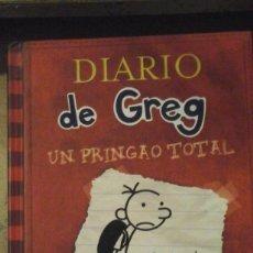 Libros de segunda mano: DIARIO DE GREG Nº 1: UN PRINGAO TOTAL (BARCELONA, 2014). Lote 151433810