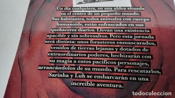 Libros de segunda mano: SARINHA Y LUH/ TRAGAMUNDOS/ MARTINEZ ROCA - Foto 3 - 151978842