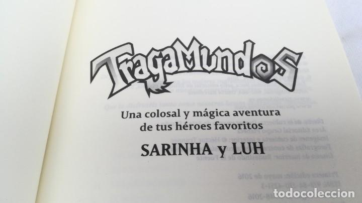 Libros de segunda mano: SARINHA Y LUH/ TRAGAMUNDOS/ MARTINEZ ROCA - Foto 4 - 151978842