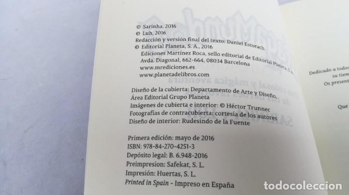 Libros de segunda mano: SARINHA Y LUH/ TRAGAMUNDOS/ MARTINEZ ROCA - Foto 5 - 151978842