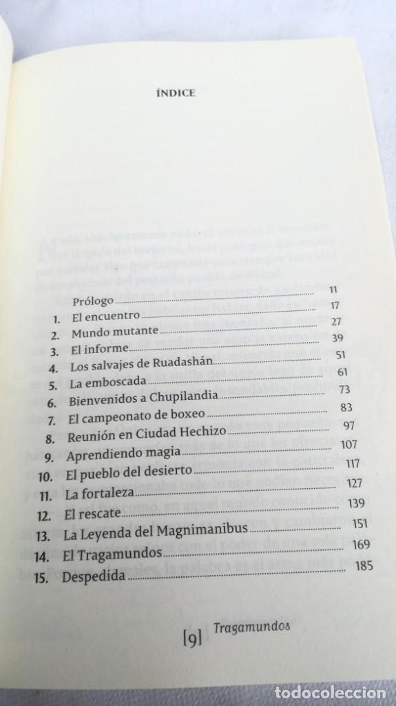 Libros de segunda mano: SARINHA Y LUH/ TRAGAMUNDOS/ MARTINEZ ROCA - Foto 6 - 151978842