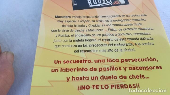 Libros de segunda mano: EL SECUESTRO DE LA HAMBURGUESA / MACUNDRA / MARTINEZ ROCA - Foto 3 - 151979126