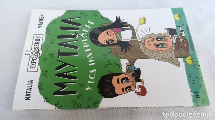 MAYTALIA Y LOS INVENTORES/ NATALIA Y MAYDEN/ EXPCASEROS/ MARTINEZ ROCA (Libros de Segunda Mano - Literatura Infantil y Juvenil - Novela)