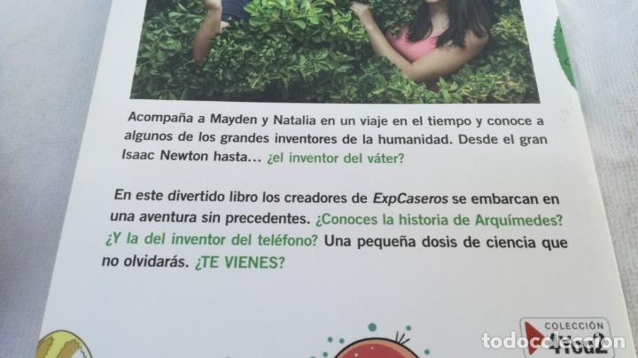 Libros de segunda mano: MAYTALIA Y LOS INVENTORES/ NATALIA Y MAYDEN/ EXPCASEROS/ MARTINEZ ROCA - Foto 3 - 151979310