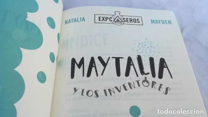 Libros de segunda mano: MAYTALIA Y LOS INVENTORES/ NATALIA Y MAYDEN/ EXPCASEROS/ MARTINEZ ROCA - Foto 5 - 151979310