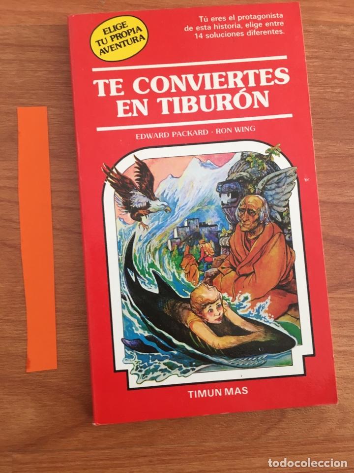 Libros de segunda mano: Elige tu propia aventura. Te conviertes en tiburón. NUMERO 32 TIMUN MAS - Foto 2 - 152162542