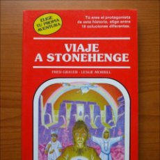 Libros de segunda mano: ELIGE TU PROPIA AVENTURA. VIAJE A STONEHENGE. NUMERO 30 TIMUN MAS. Lote 152162978