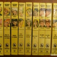 Libros de segunda mano: 12 NUMEROS HISTORIAS INFANTIL ( BRUGUERA ) 1984-1986 4ª EDICIÓN. Lote 152333790