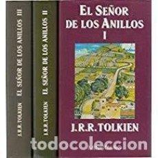 Libros de segunda mano: EL SEÑOR DE LOS ANILLOS I, II Y III. J.R.R. TOLKIEN. Lote 152391766