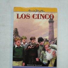 Libros de segunda mano: LOS CINCO Nº 21. LOS CINCO EN LAS ROCAS DEL DIABLO. EDITORIAL JUVENTUD. TDK370. Lote 152426066