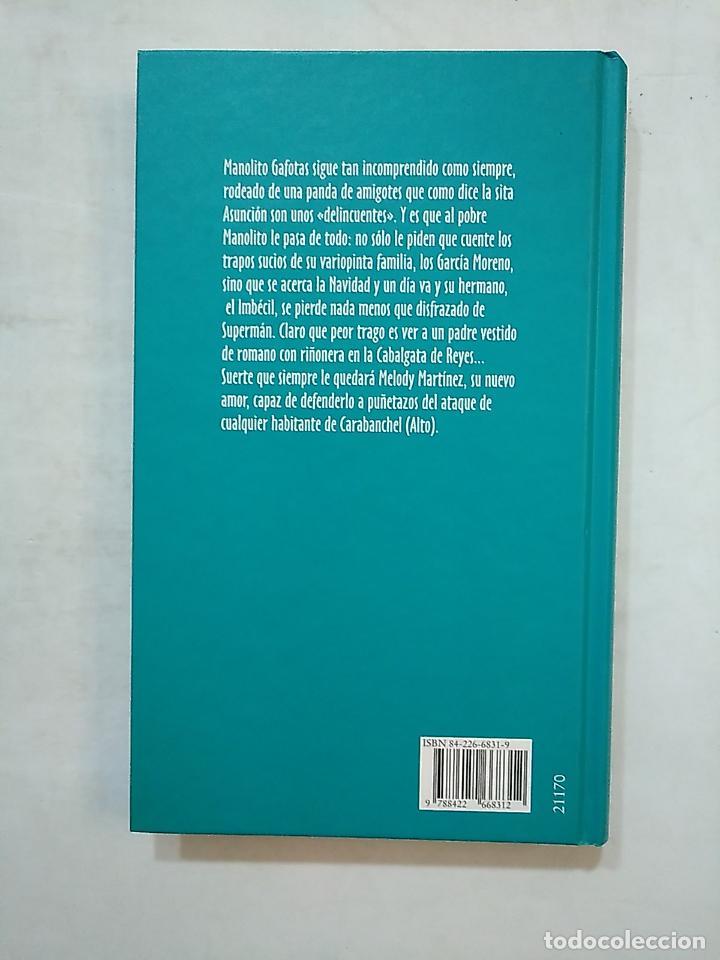 Libros de segunda mano: LOS TRAPOS SUCIOS. MANOLITO GAFOTAS. ELVIRA LINDO. CIRCULO DE LECTORES. TDK476 - Foto 2 - 152470466