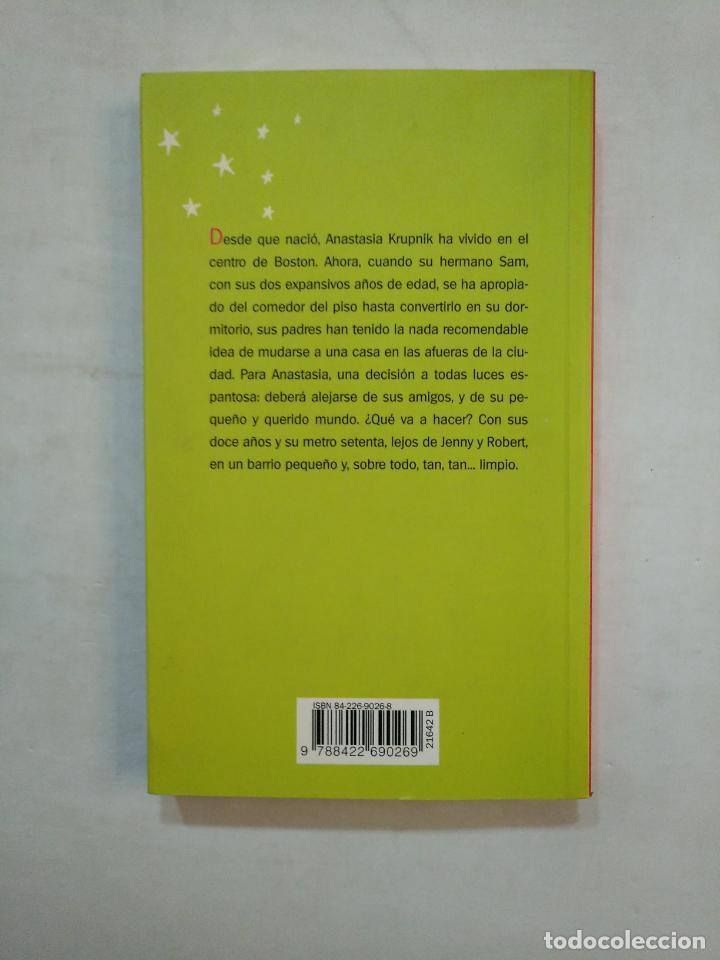 Libros de segunda mano: ANASTASIA DE NUEVO. LOIS LOWRY .- CIRCULO DE LECTORES. TDK371 - Foto 2 - 152726186