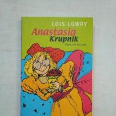 Libros de segunda mano: ANASTASIA. KRUPNIK.- CIRCULO DE LECTORES. TDK371. Lote 152737798