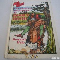 Libros de segunda mano: ROBIN HOOD 1º EDICION TUS LIBROS ANAYA. Lote 154954282