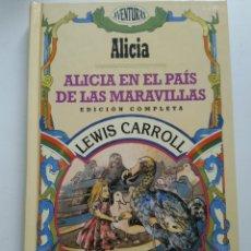 Libros de segunda mano: ALICIA EN EL PAÍS DE LAS MARAVILLAS/LEWIS CARROLL. Lote 154954964