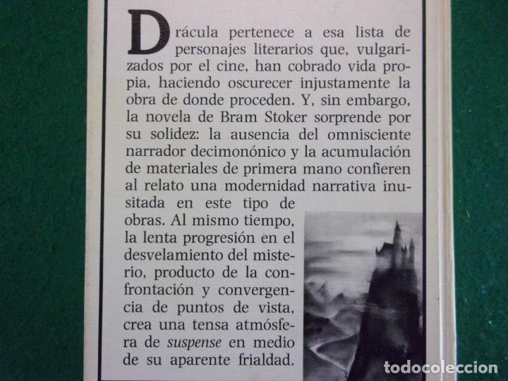 Libros de segunda mano: DRACULA / Bram Stoker / 1ª edición 1984. Anaya Tus Libros - Foto 4 - 155046918