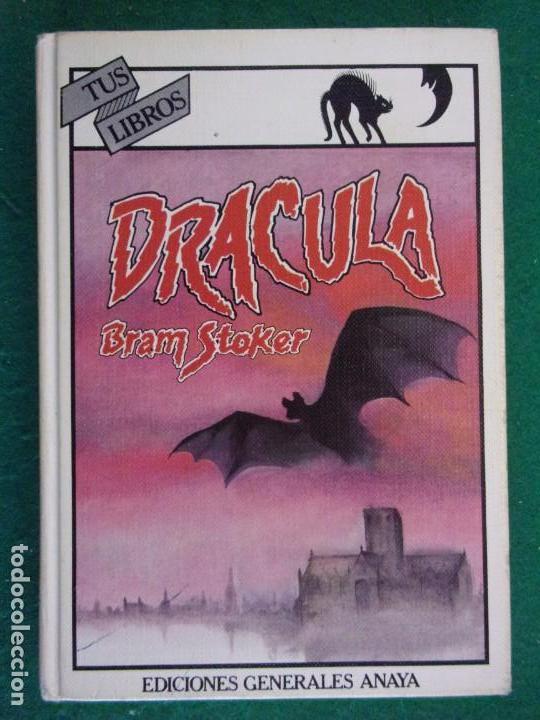 DRACULA / BRAM STOKER / 1ª EDICIÓN 1984. ANAYA TUS LIBROS (Libros de Segunda Mano - Literatura Infantil y Juvenil - Novela)