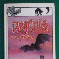 Libros de segunda mano: DRACULA / BRAM STOKER / 1ª EDICIÓN 1984. ANAYA TUS LIBROS. Lote 155046918