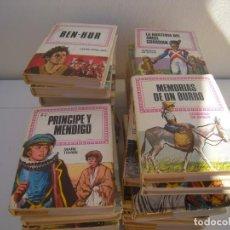 Libros de segunda mano: LOTE DE 33 HISTORIAS INFANTIL BRUGUERA TIPO PULGA. Lote 155086918