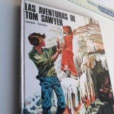 Libros de segunda mano: LAS AVENTURAS DE TOM SAWYER. EDITORIAL SUSAETA 1974. MARK TWUAIN. ILUSTRADO. Lote 155145650