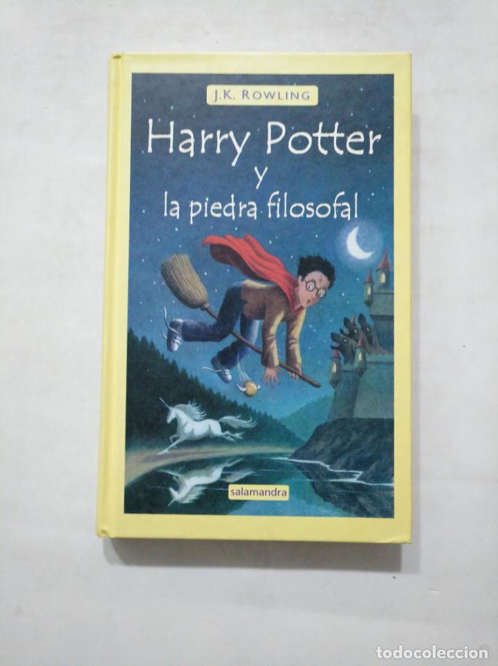 HARRY POTTER Y LA PIEDRA FILOSOFAL. Nº 1. J.K. ROWLING. EDITORIAL SALAMANDRA. TDK377 (Libros de Segunda Mano - Literatura Infantil y Juvenil - Novela)