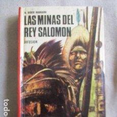 Libros de segunda mano: LAS MINAS DEL REY SALOMON, HENRY RIDER HAGGARD, NARRACIONES RECCREATIVAS, Nº14, EDI.DIFUSION. Lote 155325694