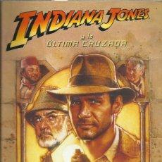 Libros de segunda mano: INDIANA JONES Y LA ULTIMA CRUZADA, RYDER WINDHAM. Lote 155846646