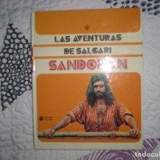 Libros de segunda mano: LAS AVENTURAS DE SALGARI,SANDOKÁN;VULCANO 1976. Lote 155938906
